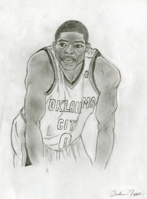 Russell Westbrook par Jaye